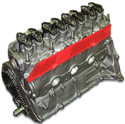 83-00 AMC 150 Jeep 2.5 OHV Long Block