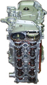 01-05 Toyota 2.4 2AZFE DOHC Long Block Engine